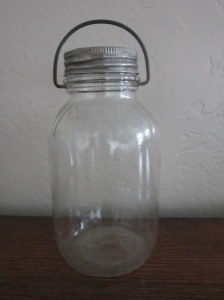 Presto handled milk jar